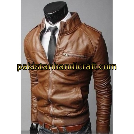Buy Brown Leather Jackets For Men And Women