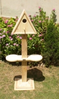 triangular-bird-house-with-pedestal-2-feeder-holders