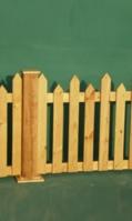 wooden-pailing