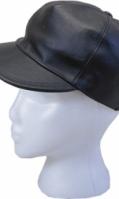 Genuine Leather Caps