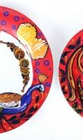 truck-art-porcelain-dining-plate-set