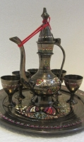Brass Aftaba set