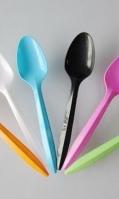 plastic-spoons stylish 24pcs