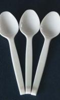 plastic-spoons white 50pcs