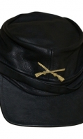 Genuine Leather Caps